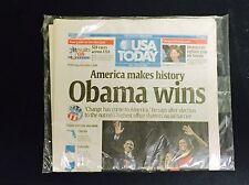 2008 USA Today Newspaper Barack Obama Elected President (Never Opened)