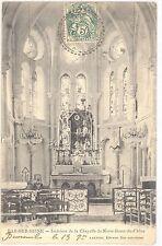 CPA 10 - BAR SUR SEINE (Aube) - Intérieur de la Chapelle de Notre-Dame du Chêne
