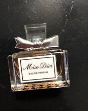 Dior MISS DIOR CHERIE eau de parfum Mini NIB .17oz/5ml