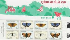 Endangered Butterfly Aland Island Finland Mint MNH Stamp Booklet 1994