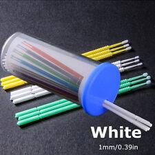 100pcs/Box 1mm Disposable Micro Swab Stick Brush Applicators Eyelash Extension