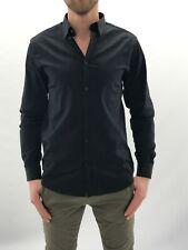 42% OFF B5131 Herren Selected Hemd Slim Fit Hemd Shirt Knopfleiste schwarz