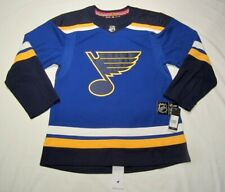 ST. LOUIS BLUES size 54 = size XL - ADIDAS NHL Hockey Jersey home blue authentic