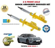 FOR TOYOTA GT86 2.0 COUPE 2012-> 2 X FRONT LEFT RIGHT SHOCK ABSORBER SHOCKER SET