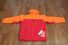 NWT The North Face Boys' Insulated Magmatic Jacket Coat Red/Orange XL 18/20