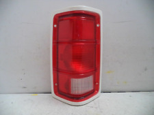 DRIVER LH 78-93 DODGE RAM PICKUP WHITE TRIM TAIL LIGHT ASSEMBLY GLO-BRITE GB22L