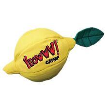 "Yeowww Cat Catnip Soft Toy Sour Pusss! Lemon 3"""