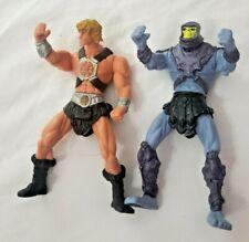 Lot Of 2 2002 2003Mattel He-Man Loose Figures Skeletor