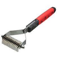 Pet Dog Cat Grooming Deshedding Trimmer Tool Hair Fur Comb Brush Rake W3A2