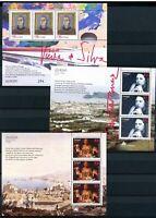 Portugal, Azoren, Madeira 3 CEPT Blöcke aus 1996 Ersttagssonderstempel (F682