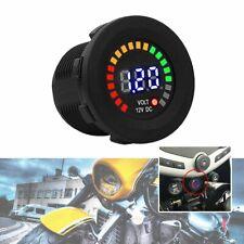 12v Motorcycle Car Led Digital Display Voltmeter Waterproof Voltage Volt Meter