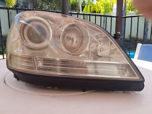 RH Genuine Head Light Lamp Non HID For Mercedes Benz M Class W164 2005~2008