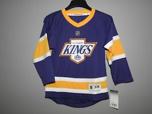 NHL LA Kings Special Edition Hockey Jersey New Youth Sizes MSRP $65
