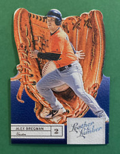 2019 Panini Leather & Lumber Baseball Alex Bregman Die Cut Gloves #50