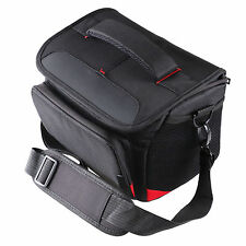 DSLR Black Camera Photo Bag Carry Shoulder Bags Rain Covers for Canon EOS Nikon