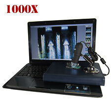 2MP 1000X 8 LED USB Digital Microscope Endoscope Zoom Camera PC Tablet Laptop