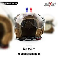 SOXON SP-325 Paris Motorcycle Jet Vespa Scooter Helmet Cruiser ECE XS S M L XL