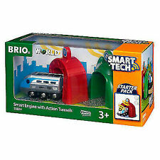 BRIO Smart Engine with Action Tunnels - 33834