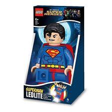 LEGO DC COMICS SUPER HEROES SUPERMAN LED TORCH LIGHT LEDLITE IQLGL-TOB20T NEW