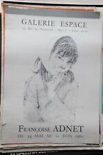 LOCANDINA - FRANCOISE ADNET GALERIE ESPACE PARIS 1960