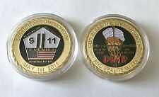NAVY SEALS SEAL TEAM 6 SIX OSAMA BIN LADEN 911 CHALLENGE COIN NON CPO MESS NYPD