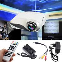 3D Full HD 1080P mini projector LED multimedia home theater usb vga hdmi TV AV Z