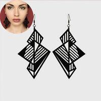 Women Earring Dangle Women Acrylic Geometric Earrings Stud Drop Resin Jewelry