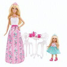 NRFB poupées BARBIE & sa soeur Tea Party n°1 Autour du thé BJX76 accessoires