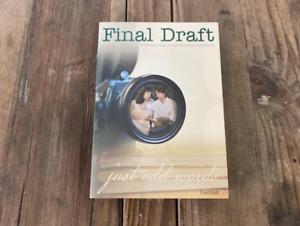 Final Draft Professional Scriptwriting Software Version 8 for Mac & Windows 2009