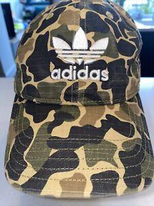 ADIDAS , CAMO BASEBALL CAP