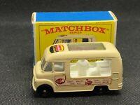 1963 VINTAGE MATCHBOX #47 COMMER ICE CREAM LYONS MAID MOKO LESNEY RARE W/BOX!!!