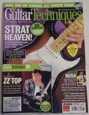 GUITAR TECHNIQUES +CD Nov 2010 STRAT HEAVEN 25 Killer Licks RUSH SPIRIT Of RADIO