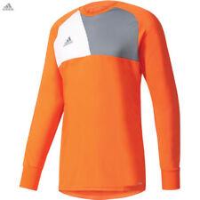 Maillot gardien de football oranges adidas