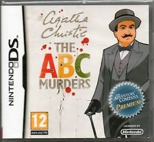 AGATHA CHRISTIE: THE ABC MURDERS GAME DS DSi Lite ~NEW