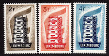 $ Luxembourg Scott #318-320 mint, NH, VF, complete set, Cat. Value $250