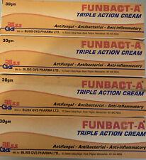 4 x Original Funbact -A Cream. Dispatch Royal Mail
