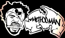 "Wu Tang Clan Method Man Vinyl Decal Sticker 8.5"" X 5""C.R.E.A.M,Tical,BOMBATOMIK"