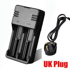 Battery Charger for Batteries Ni-MH AA AAA Li-ion 18650 26650 16340 UK Plug