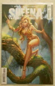 Sheena Queen of the Jungle #1 J. Scott Campbell Cover Dynamite Entertainment