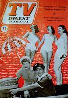 TV Guide 1952 Pre National Lucille Ball Desi Arnaz I Love Lucy TV Digest VTG