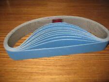 "12- 1 x 18"" 180 grit Ceramic sanding belts for  Knife Sharpener Ken Onion ATTACH"
