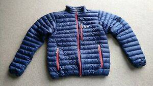 Men's Rab Microlight Jacket - Size M, Blue, Used
