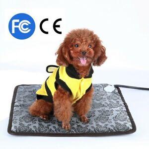 Dog Cat Electric Bed Mat Pet Heating Pad Large Indoor Outdoor Waterproof Safe US
