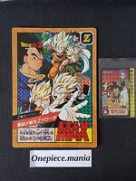DRAGON BALL Z JUMBO CARD SUPER BATTLE/POWER LEVEL CARDDASS PRISM NEW