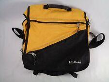 LL Bean Yellow Cross Body Messenger Backpack Bag LLB #OHN74