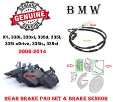 BMW Rear Brake Pad Set For 330i 330xi 335d 335i 335is 335xi X1 2006-2014 GENUINE