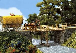 Faller H0 120495: Wood Stamm Bridge
