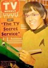 TV Guide 1969 Star Trek Chekov Koenig International TV Weekly New Zealand COA