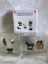 Liberty Falls Collection Accessory Set Ah122 Horse Rooster Outhouse & More - M
