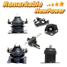 04-06 Acura TL 3.2L Engine Motor & Trans Mount Kit 6PCS. For Auto Transmission